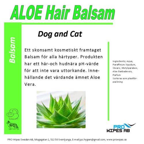 Aloe Hair Balsam