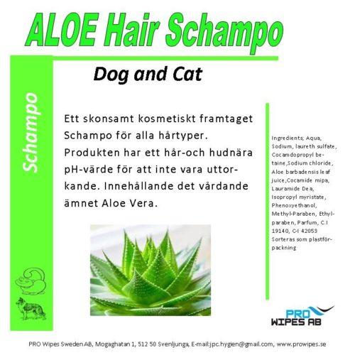 Aloe Hair Schampo