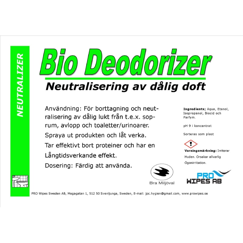 Bio Deodorizer
