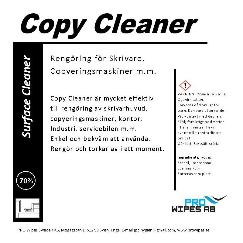Copy Cleaner 70%