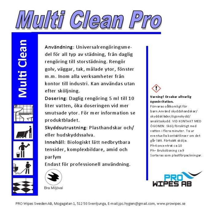 Multi Cleaner Pro