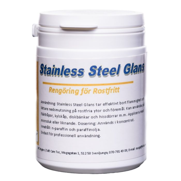 Stainless Steel Glans 250ml